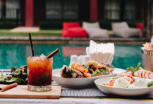 Photo of Poolside Dinner and a Movie at the JW Marriott Los Angeles